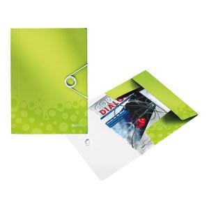 Fascikl klapa s gumicom pp A4 Wow Leitz 45990064 svijetlo zeleni