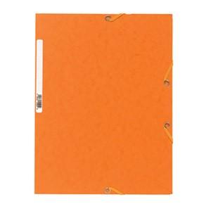 Fascikl klapa s gumicom chartreuse A4 Exacompta 55504E narančasti