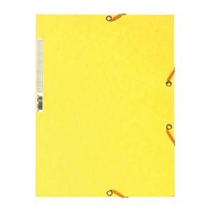 Fascikl klapa s gumicom chartreuse A4 Exacompta 55529E limun žuti