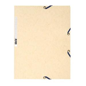 Fascikl klapa s gumicom chartreuse A4 Exacompta 55532E drap