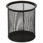 Čaša za olovke metalna žica okrugla fi-9xH-9,7cm LD01-188 crna