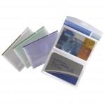Etui za vizitke 8 džepova 16 kartica Tarifold 510299 prozirno sortirano