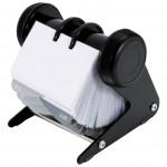 Album za vizitke-rotacijski 200 džepova Donau 1394001PL-01 crni