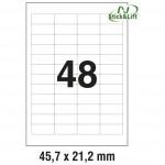 Etikete ILK 45,7x21,2mm odljepljive pk25L Zweckform L4736REV-25