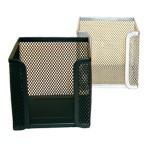 Blok kocka žica 9,5x9,5x9,5cm LD01-498 crna