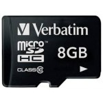 Memorijska kartica Verbatim micro schc 8gb