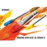 Blok za crtanje br.2 STREET P100