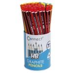 Olovka grafitna HB trokutasta u čaši pk72 Connect sortirano