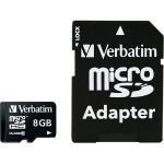 Memorijska kartica Verbatim micro sdhc 8gb+adapter