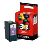 Lexmark 18CX033E #33 Z815 - COLOR