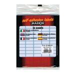Etikete slep 21x8mm pk10L 10015 blister