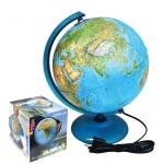 Globus 30cm STREET hrvatski sa svjetlom, kartogr-geopolitički P12