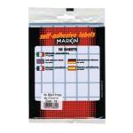 Etikete slep 22x17mm pk10L 10018 blister