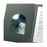 Etui za 1 CD pp samoljepljiv s prstohvatom pk10 3L. blister