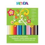 Kolaž - blok A4 24 lista 220g papir u boji Heyda 20-51718 09
