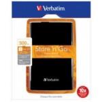 """Externi HDD Verbatim USB 3.0 2,5"""" 500GB BLACK"""