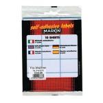 Etikete slep 37x27mm pk10L 10029 blister