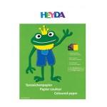Kolaž - blok A4 10 listova 130g papir u boji Heyda 20-47 125