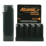Upaljač elektronski sjajni Atomic Swing crni