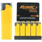Upaljač elektronski sjajni Atomic Swing žuti