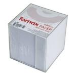 Blok kocka pvc 9,2x9,2cm s papirom bijelim