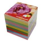 Papir za kocku 9x9x9cm ljepljeni Spectra intenzivne boje
