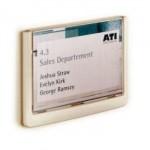 Informacijski okvir za vrata CLICK SIGN 149x105.5mm bijeli