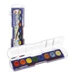Boja vodena 8boja+kist Metallic Giotto Fila 331100 blister
