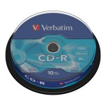 CD-R 700/80 52x spindl Extra protection pk10 Verbatim 43437
