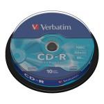 CD-R 700/80 52x spindl Extra protection pk10 Verbatim 43437