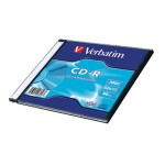 CD-R 700/80 52x slim Extra protection Verbatim 43347