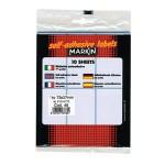 Etikete slep 73x37mm pk10L 10048 blister