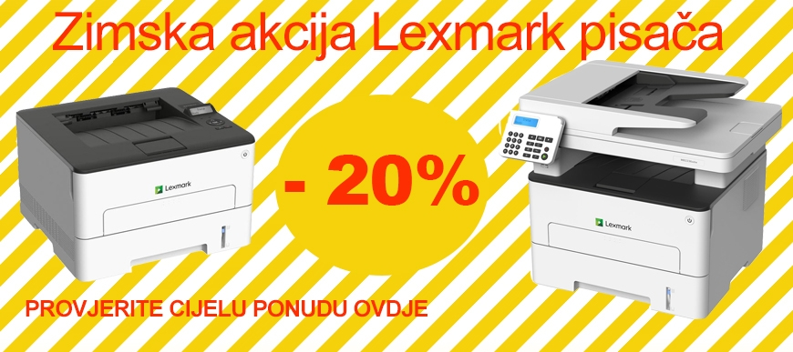 Lexmark akcija